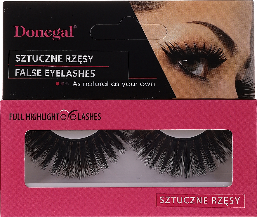 Umělé řasy, 4470 - Donegal Eyelashes With Glue