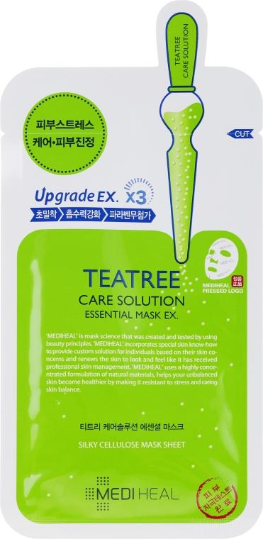Uklidňující látková maska - Mediheal Teatree Care Solution Essential Mask Ex — foto N1