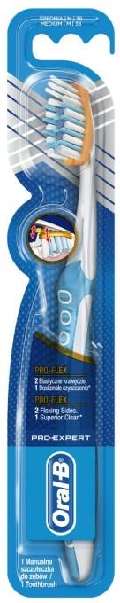 Zubní kartáček, světle modrý - Oral-B Pro-Expert Pro-Flex 38 Medium — foto N1