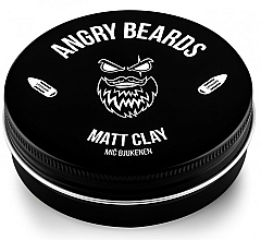 Parfémy, Parfumerie, kosmetika Vlasová hlína  - Angry Beards Mic Bjukenen Matt Clay