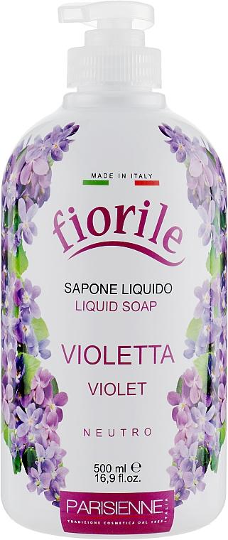 Tekuté mýdlo Violka - Parisienne Italia Fiorile Violet Liquid Soap