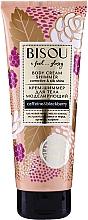 Parfémy, Parfumerie, kosmetika Třpytivý modelovací krém na tělo - Bisou Collagen&Blackberry Body Cream Shimmer