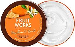 Parfémy, Parfumerie, kosmetika Tělový olej Mandarin & Neroli - Grace Cole Fruit Works Body Butter Mandarin & Neroli