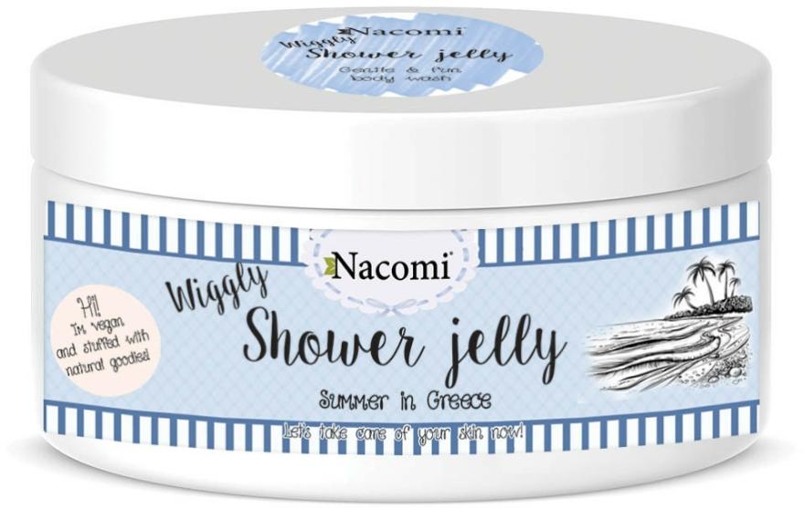 """Sprchový gel-želé """"Léto v Řecku"""" - Nacomi Shower Jelly Summer in Greece — foto N1"""