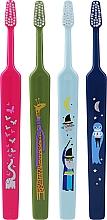 Parfémy, Parfumerie, kosmetika Zubní kartáčky pro děti, růžový + modrý + světlé modrý + zelený - TePe Kids Extra Soft