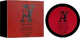 Parfémy, Parfumerie, kosmetika Gel pro úpravu vlasů - I.C.O.N. MR. A. Gelatin Pliable Gel Wet Finish