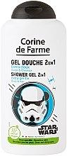 Parfémy, Parfumerie, kosmetika Šampon a sprchový gel 2 v 1 pro chlapce - Corine de Farme Star Wars Force