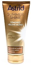 Parfémy, Parfumerie, kosmetika Tonující lotion pro světlou pleť - Astrid Summer Shine