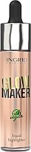 Parfémy, Parfumerie, kosmetika Tekutý rozjasňovač - Ingrid Cosmetics Glow Maker Bali Vegan Highlighter