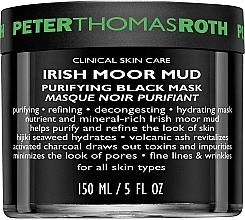 Parfémy, Parfumerie, kosmetika Čisticí pleťová maska - Peter Thomas Roth Irish Moor Mud Purifying Black Mask