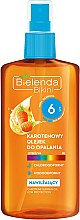 Parfémy, Parfumerie, kosmetika Opalovací olej SPF6 - Bielenda Bikini Carotene SunTan Oil Moisturizing