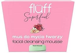 Parfémy, Parfumerie, kosmetika Čisticí pleťová pěna Malína a mandle - Fluff Facial Cleansing Mousse Raspberry & Almonds