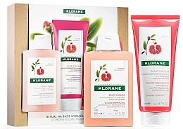 Parfémy, Parfumerie, kosmetika Sada - Klorane Pomegranate (shm/200ml + cond/200ml)