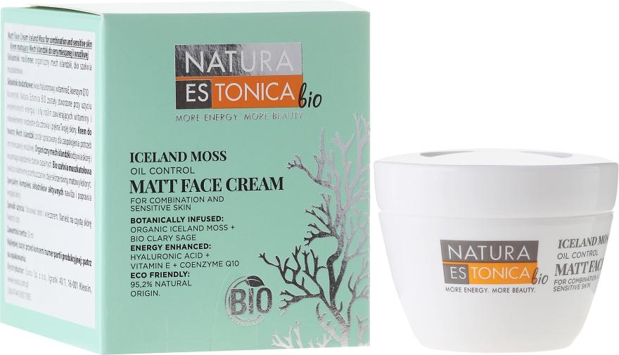 Krém na obličej matující islandský mech - Natura Estonica Iceland Moss Matt Face Cream