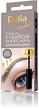 Parfémy, Parfumerie, kosmetika Krémová řasenka na obočí - Delia Creamy Eyebrow Mascara