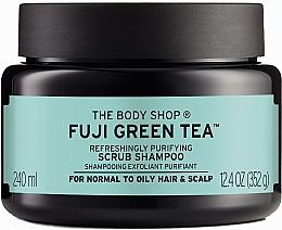 Parfémy, Parfumerie, kosmetika Čisticí peeling na pokožku hlavy a vlasy Zelený čaj - The Body Shop Fuji Green Tea Cleansing Hair Scrub