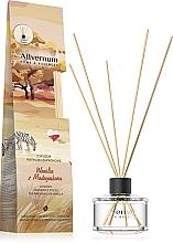 """Parfémy, Parfumerie, kosmetika Aromatický difuzér """"Vanilka z Madagaskaru"""" s tyčinkami - Allverne Home&Essences Diffuser"""