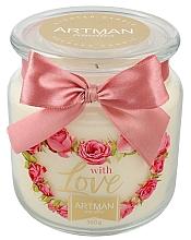 Parfémy, Parfumerie, kosmetika Vonná svíčka - Artman With Love