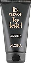 Parfémy, Parfumerie, kosmetika Tělová pěna proti stárnutí - Alcina It's Never Too Late Anti-Aging Body Mousse