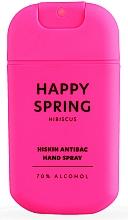 Parfémy, Parfumerie, kosmetika Antibakteriální sprej na ruce Ibišek - HiSkin Antibac Hand Spray Happy Spring