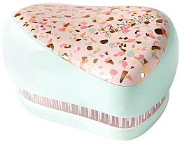 Parfémy, Parfumerie, kosmetika Kompaktní kartáč na vlasy - Tangle Teezer Compact Styler Terazzo