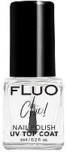 Parfémy, Parfumerie, kosmetika Sušící vrchní lak na nehty - Constance Carroll Fluo Chic UV Top Coat