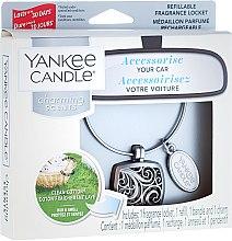 Parfémy, Parfumerie, kosmetika Vůně do auta - Yankee Candle Clean Cotton Square
