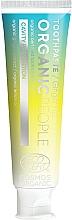 Parfémy, Parfumerie, kosmetika Zubní pasta Ochrana proti zubnímu kazu - Organic People Ginger Fizz Toothpaste