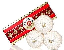 """Parfémy, Parfumerie, kosmetika Sada ze tří parfémovaných mýdel """"Jean Marie Farina"""" - Roger & Gallet Jean Marie Farina Perfumed Soaps (soap/3x100g )"""