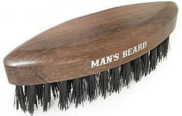 Parfémy, Parfumerie, kosmetika Dřevěný cestovní kartáč na vousy - Man'S Beard Travel Beard Brush Without Wooden Handle