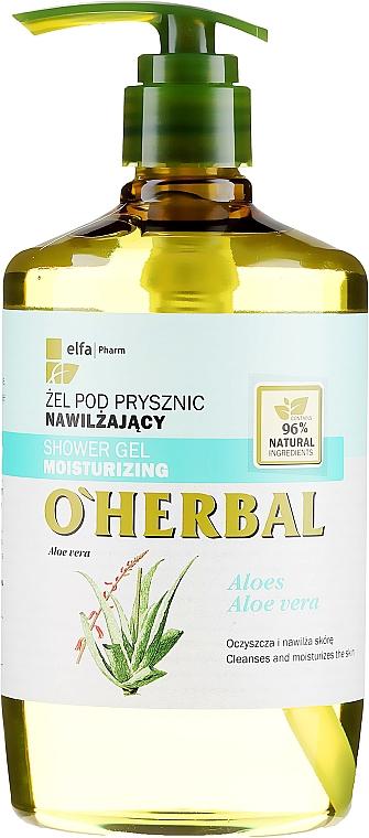Hydratační sprchový gel s extraktem aloe vera - O'Herbal Moisturizing Shower Gel — foto N1