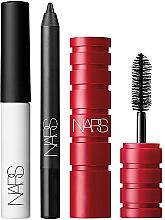 Parfémy, Parfumerie, kosmetika Sada - Nars Mini Eye Trio (mascara/2.5g + base/eye/2.8g + eyeliner/0.7g)