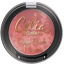Parfémy, Parfumerie, kosmetika Tvářenka - Celia Woman Rose Blush Mosaic