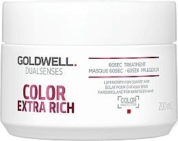 Parfémy, Parfumerie, kosmetika Intenzivní maska pro barvené vlasy - Goldwell DualSenses Color Extra Rich 60sec Treatment