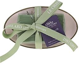 Parfémy, Parfumerie, kosmetika Mýdlo oválného tvaru s keramickou mýdlenkou Oliva - Le Chatelard 1802 Olive Soap
