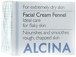 Parfémy, Parfumerie, kosmetika Krém na obličej Fenykl - Alcina T Facial Cream Fennel