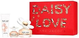 Parfémy, Parfumerie, kosmetika Marc Jacobs Daisy Love - Sada (edt/100ml + edt/4ml + b/lot/75ml)