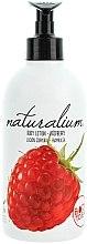 "Parfémy, Parfumerie, kosmetika Výživný tělový lotion ""Malina"" - Naturalium Body Lotion Raspberry"