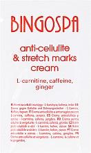 Parfémy, Parfumerie, kosmetika Krém proti celulitidě a striím s L-karnitinem, kofeinem a zázvorem - BingoSpa Cream For Cellulite