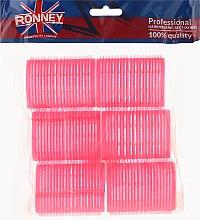 Parfémy, Parfumerie, kosmetika Natáčky na suchý zip 44/63, růžové - Ronney Professional Velcro Roller