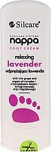 Parfémy, Parfumerie, kosmetika Krém na nohy uvolňující s levandulí - Silcare Nappa Foot Cream Relaxing Lavender