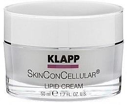 Parfémy, Parfumerie, kosmetika Výživný krém na obličej - Klapp Skin Con Cellular Lipid Cream