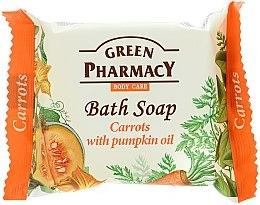 "Parfémy, Parfumerie, kosmetika Mýdlo ""Mrkev s dýňovým olejem"" - Green Pharmacy"