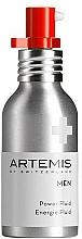 Parfémy, Parfumerie, kosmetika Pleťový fluid - Artemis of Switzerland Men Power Fluid SPF 15