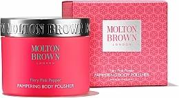 Parfémy, Parfumerie, kosmetika Molton Brown Fiery Pink Pepper Pampering Body Polisher - Tělový peeling