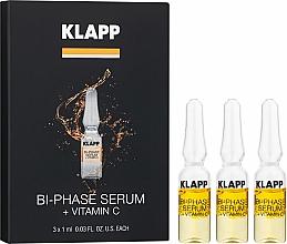 """Parfémy, Parfumerie, kosmetika Dvoufázové sérum """"Vitamin C"""" - Klapp Bi-Phase Serum Vitamin C"""