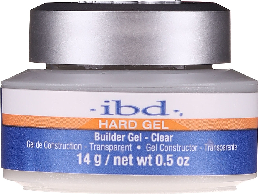 Gel konstruktor, průhledný - IBD Hard Gel Builder Gel Clear
