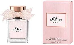 Parfémy, Parfumerie, kosmetika S.Oliver For Her - Toaletní voda