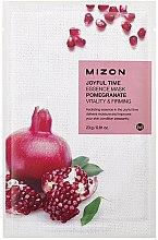 Parfémy, Parfumerie, kosmetika Látková pleťová s extraktem granátu - Mizon Joyful Time Essence Mask Pomegranate