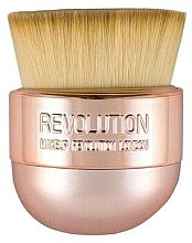 Parfémy, Parfumerie, kosmetika Štětec na make-up - Makeup Revolution Oval Precision Kabuki Brush